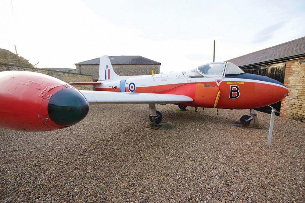 LincolnshireCranwell-Aviation-Heritage-CentreHunting-Jet-Provost-T4