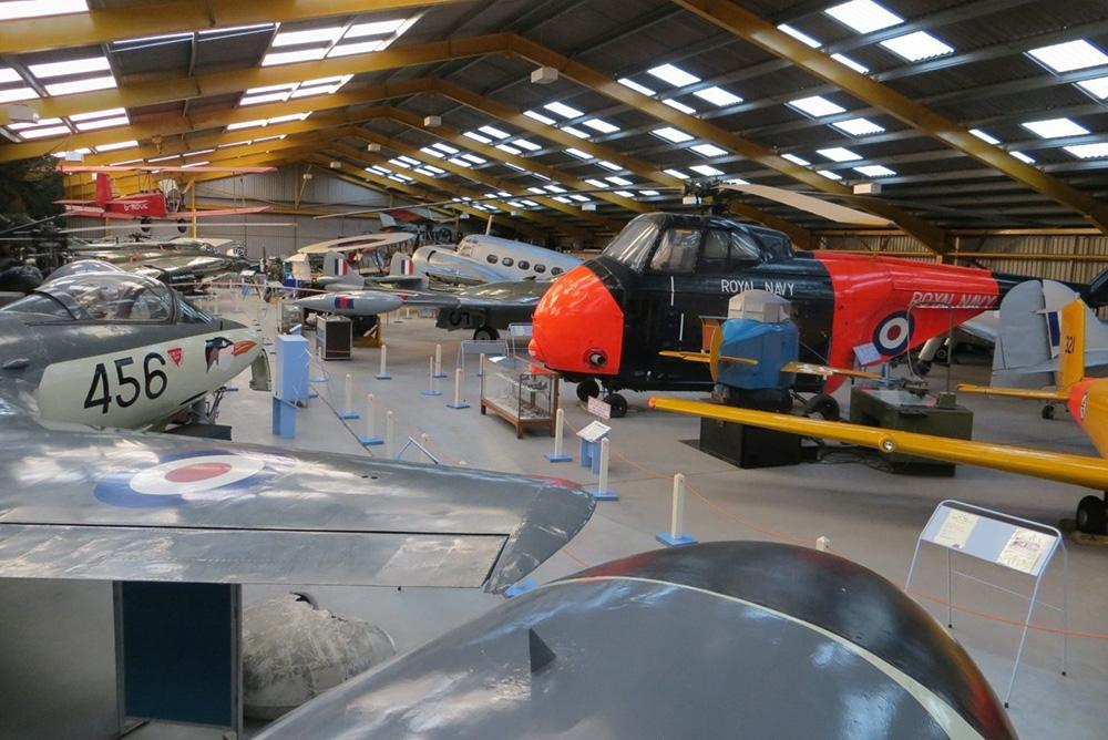 NottinghamshireNewark-Air-Museum-hangar-interior